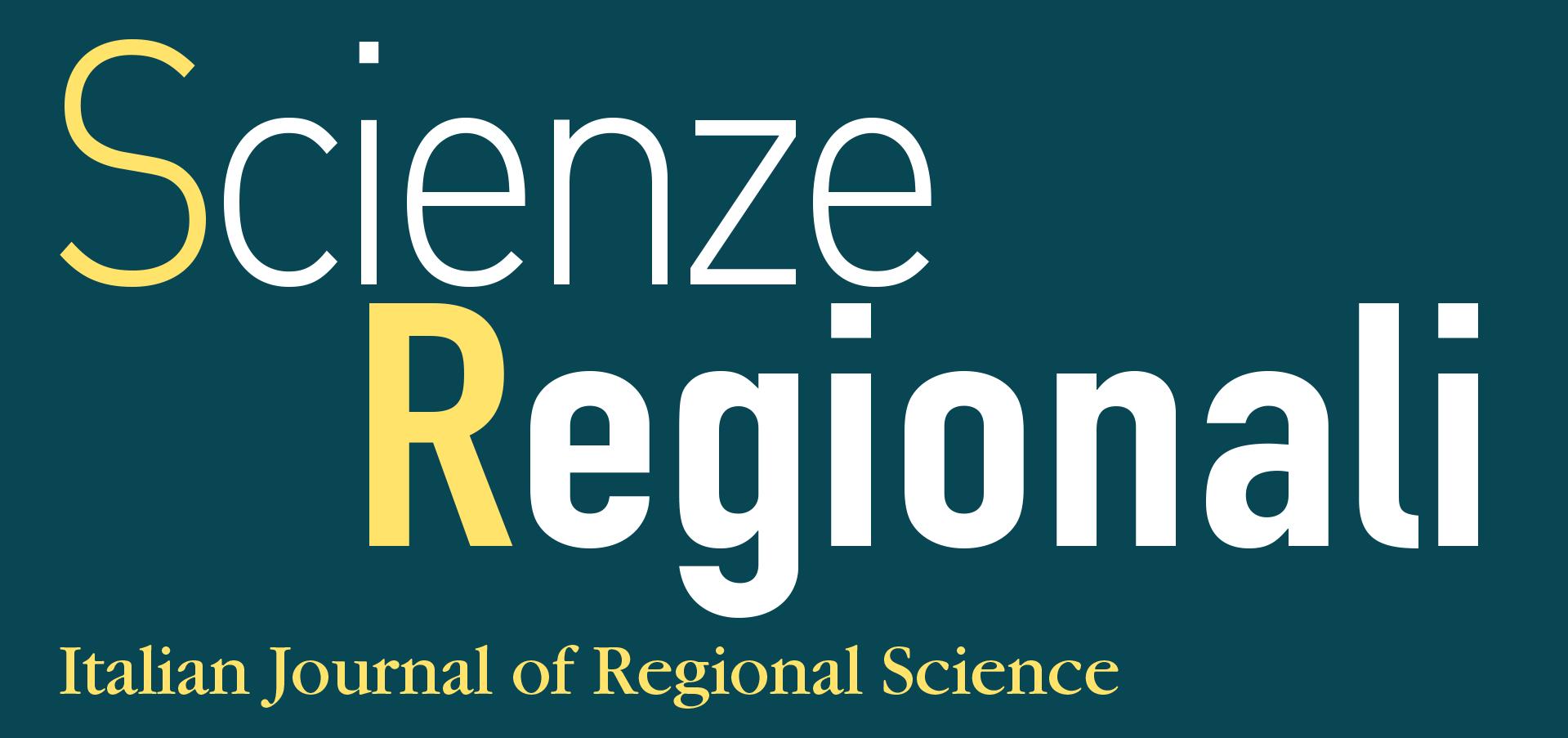 Scienze Regionali logo